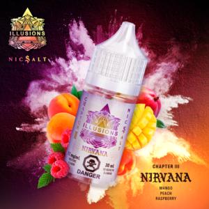 Illusion Vapour Nirvana - Nicotine salt