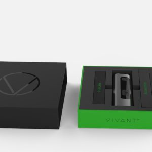 Vivant Rift Vaporizer Starter Kit - box - includes